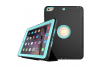 iPad 9.7 (2017) heavy duty survivor smartcase lichtblauw