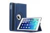 iPad 9.7 (2018) PU leren draaibare hoes blauw