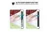 iPad 2018 9.7 inch Smart Cover Marmer Look Multi Color Groen