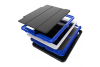 iPad 9.7 (2018) heavy duty survivor smartcase blauw