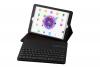 iPad Air 1 Air 2 pro 9.7 Luxe hoes met uitneembaar Bluetooth Toetsenbord Zwart leer