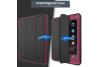 iPad 9.7 (2018) heavy duty survivor smartcase oud roze