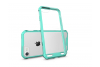 Iphone 7 Back cover Transparant Air Hybrid Mintgroen
