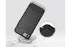 Iphone 7 Back Cover Case Zwart