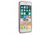 Iphone 7 Back cover TPU case Transparant Rose goud