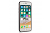 Iphone 7 Back cover TPU case Transparant Zwart