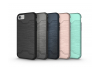 Iphone 8 Plus Back Cover Case Donker blauw