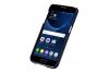 Samsung S7 echt lederen backcover Zwart