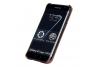 Samsung S7 Edge echt lederen backcover Bruin