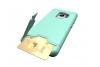 Samsung Galaxy S9 Back Cover Case Mintgroen