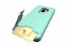 Samsung Galaxy S9 Plus Back Cover Case Mintgroen
