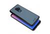 Samsung Galaxy S9 Plus Back cover TPU case Transparant Zwart