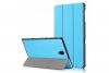 book cover galaxy tab a 10.5 tri-fold blue
