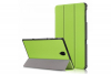 book cover galaxy tab a 10.5 tri-fold green