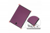 samsung galaxy tab a 10.5 book cover tri-fold purple