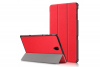 book cover galaxy tab a 10.5 tri-fold red