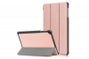 book cover galaxy tab a 10.1 tri-fold rose gold