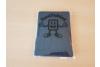 iPad 2019 10.2 inch Hard Tri-Fold Book Cover Donker blauw