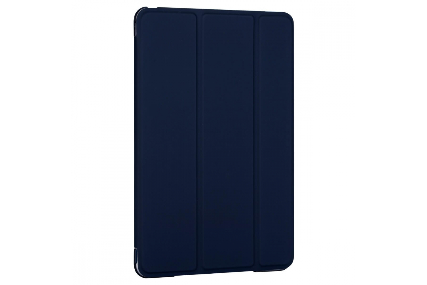 iPad Mini 5 Hard Tri-Fold Book Cover Donker Blauw