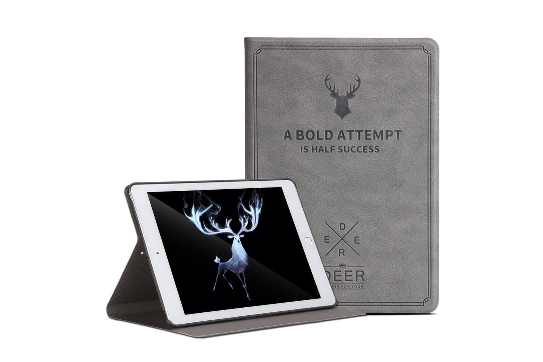 iPad  9.7 (2018) design hoes grijs DEER