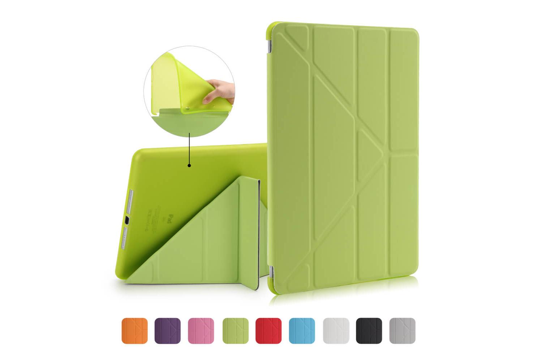 iPad 9.7 (2018) Flipstand Cover groen