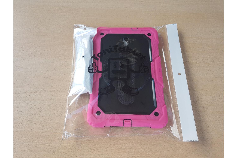 rotating bumper case for samsung galaxy tab a 10.5 pink
