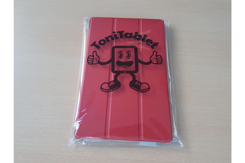 samsung galaxy tab a 10.5 book cover case red