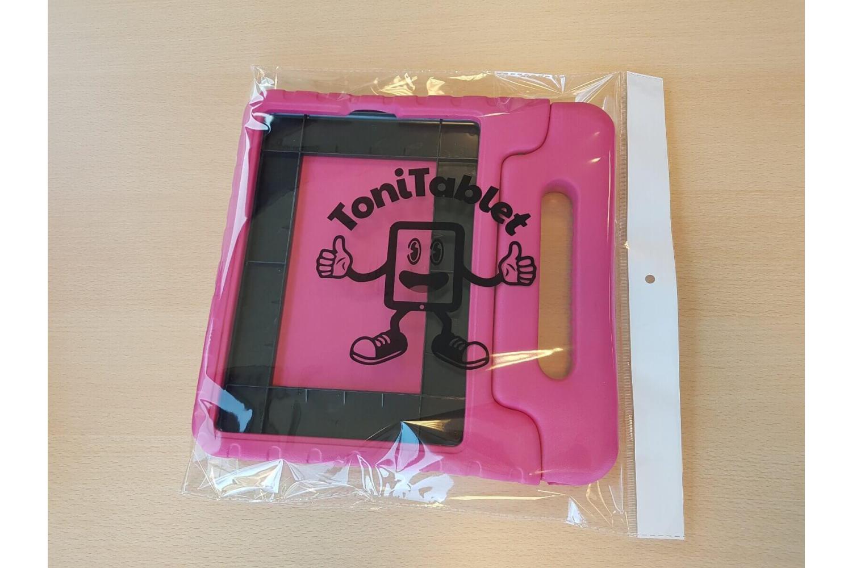iPad 2019 10.2 Kinderhoes Roze