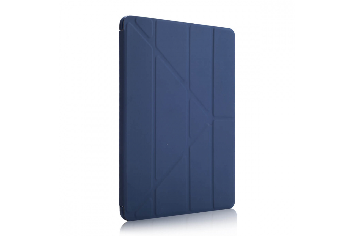 iPad 9.7 (2018) Flipstand Cover donker blauw