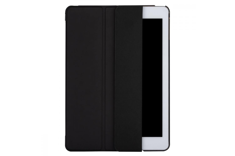 iPad 2018 9.7 inch Hard Tri-Fold Book Cover Zwart