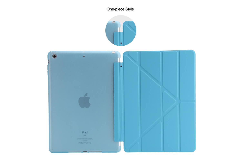 iPad 2017 9.7 Flipstand Cover blauw