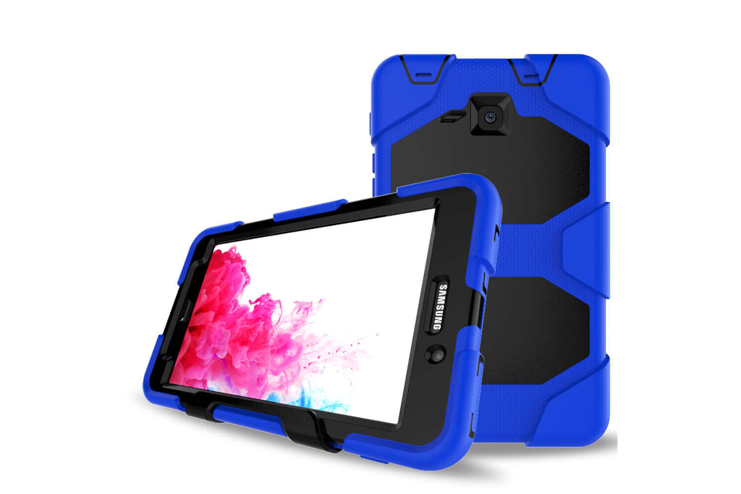 Samsung Tab A 7.0 (A6) heavy duty survivor case blauw T280 - T285