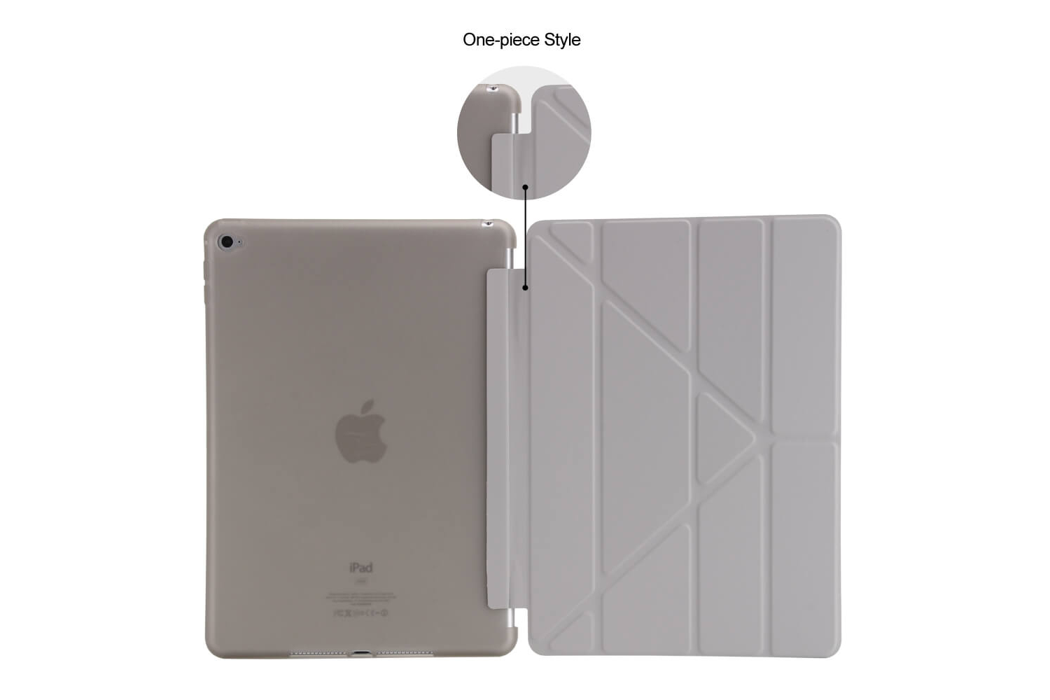 Flipstand Cover iPad Air 2 grijs