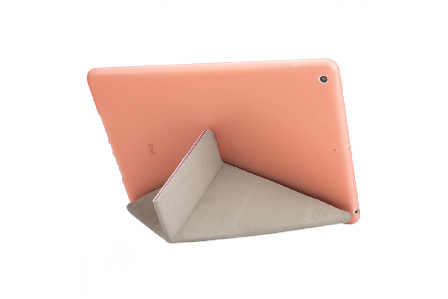 iPad 9.7 (2018) Flipstand Cover rose goud