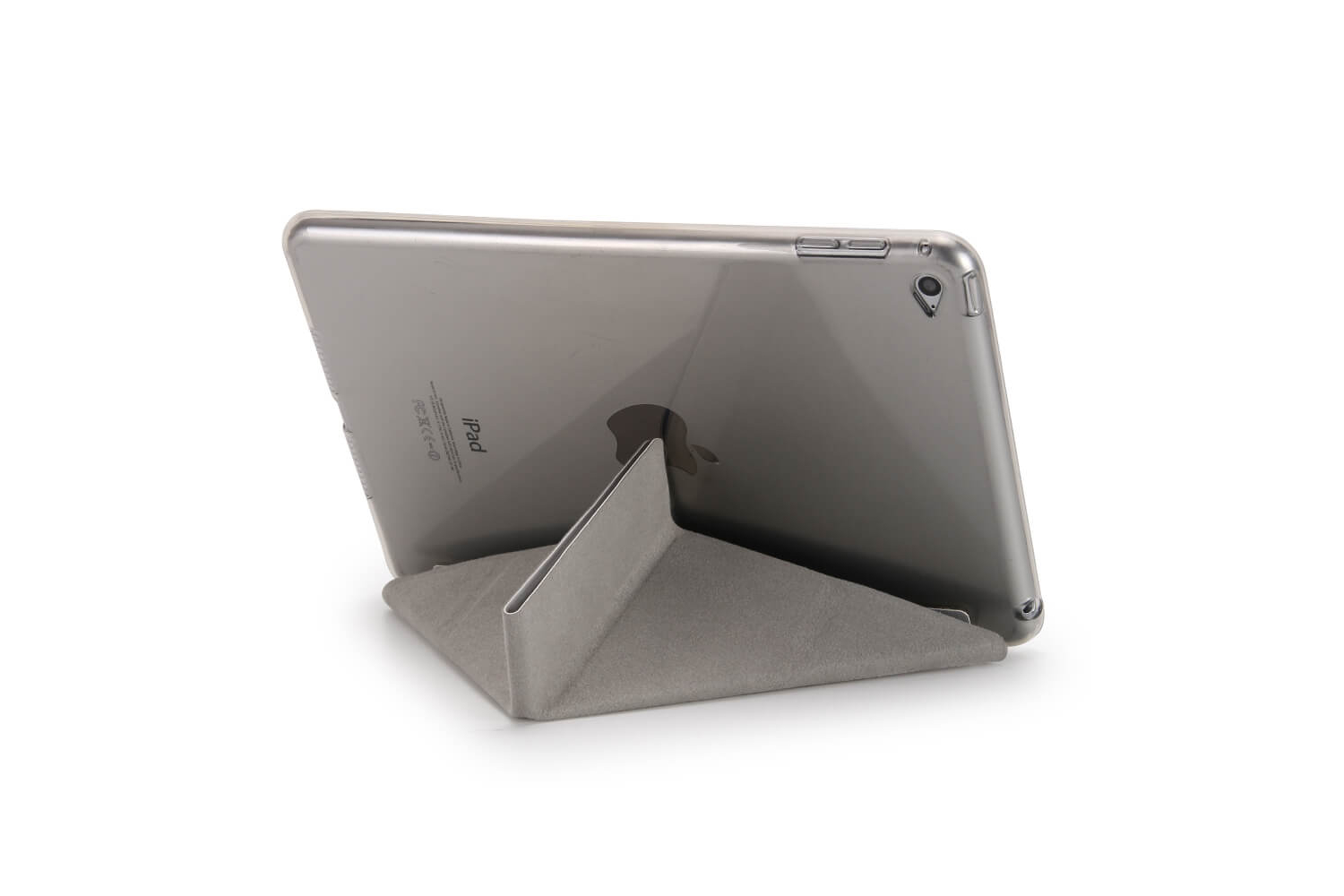 Flipstand Cover iPad Mini 4 grijs