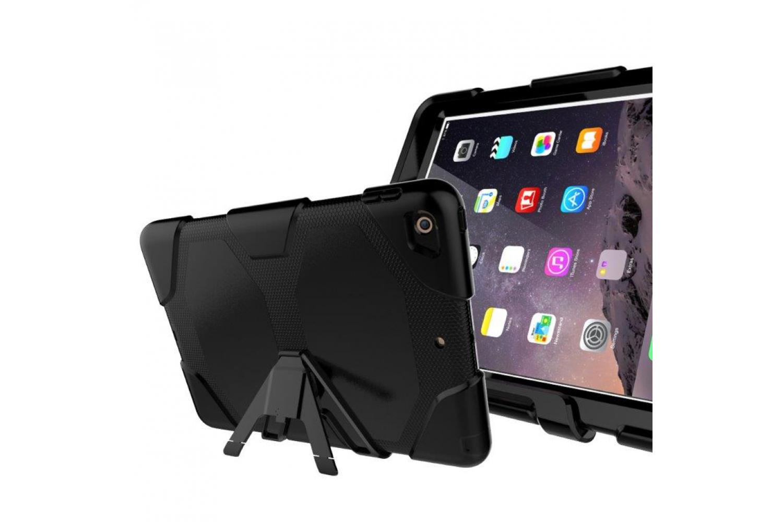 iPad 2017 9.7 inch Bumper Case met ingebouwde screenprotector Zwart