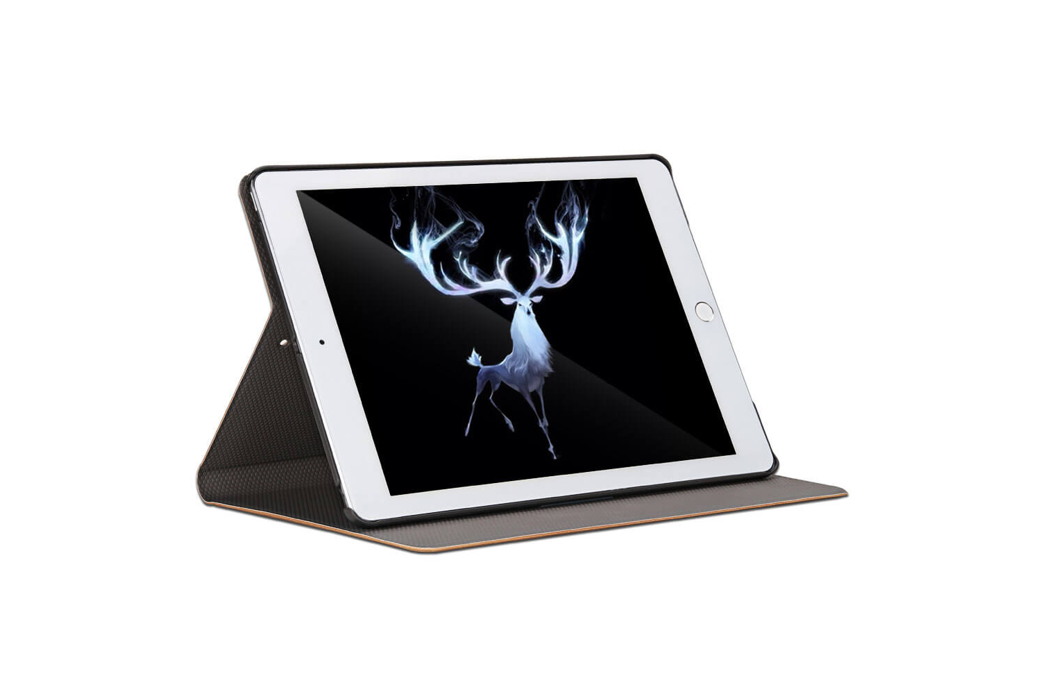 iPad 9.7 (2018) design hoes beige DEER