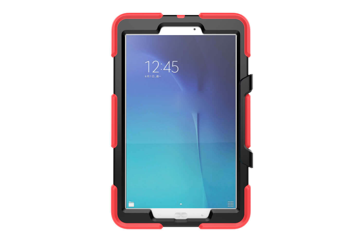 Samsung Tab E 9.6 heavy duty survivor case rood T560 - T561