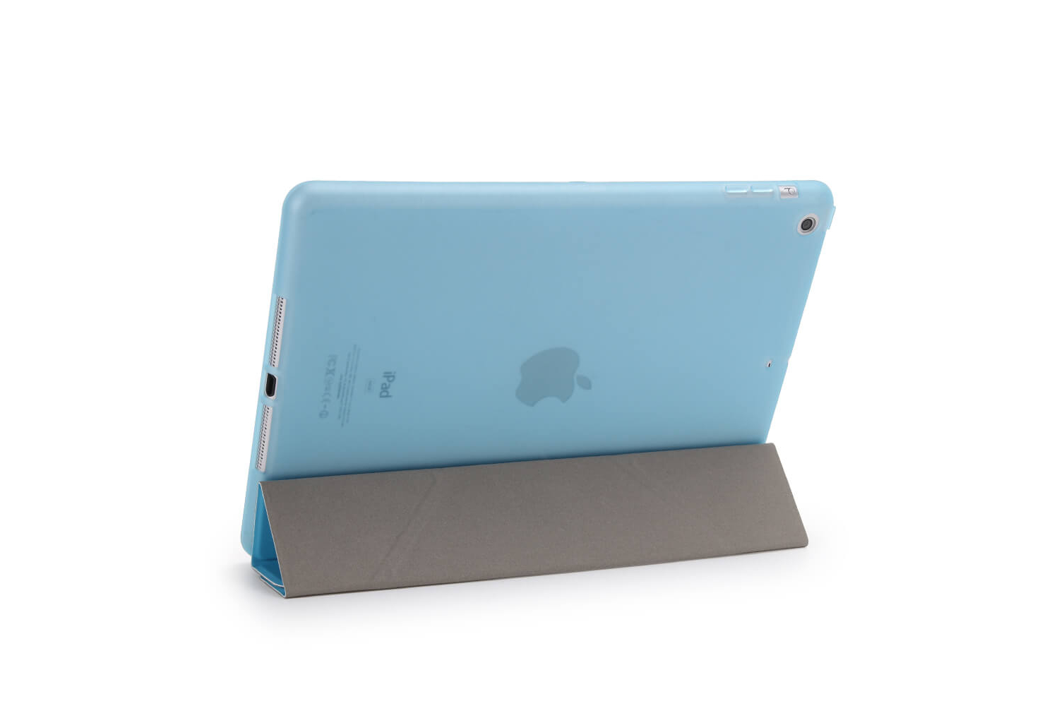 iPad 2017 9.7 Flipstand Cover blauw