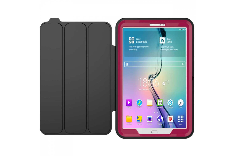 Samsung Tab A 10.1 heavy duty survivor smartcase oud roze T580 T585