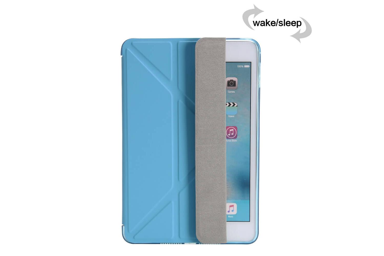 Flipstand Cover iPad Mini 4 blauw
