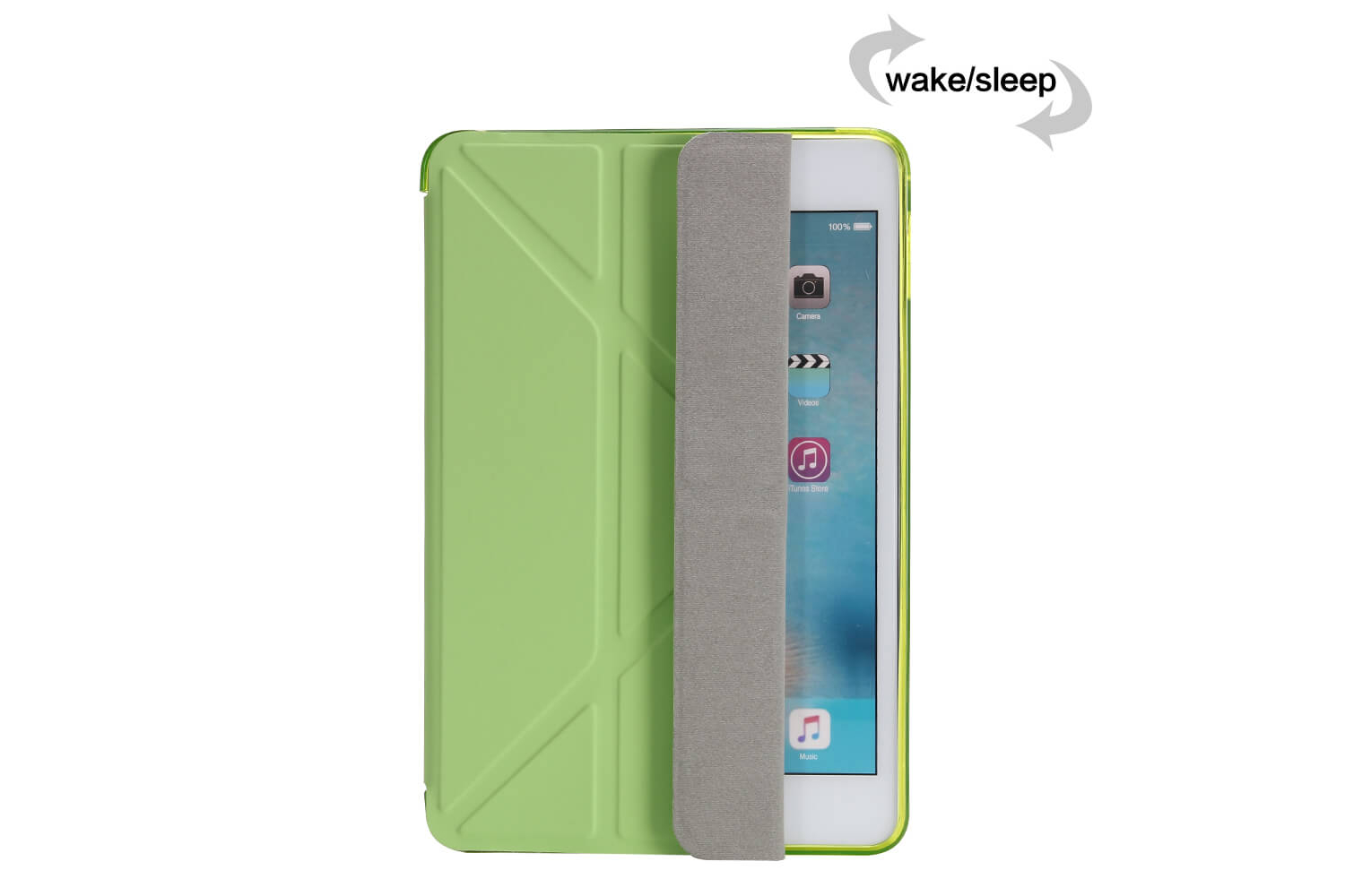 Flipstand Cover iPad Mini 4 groen