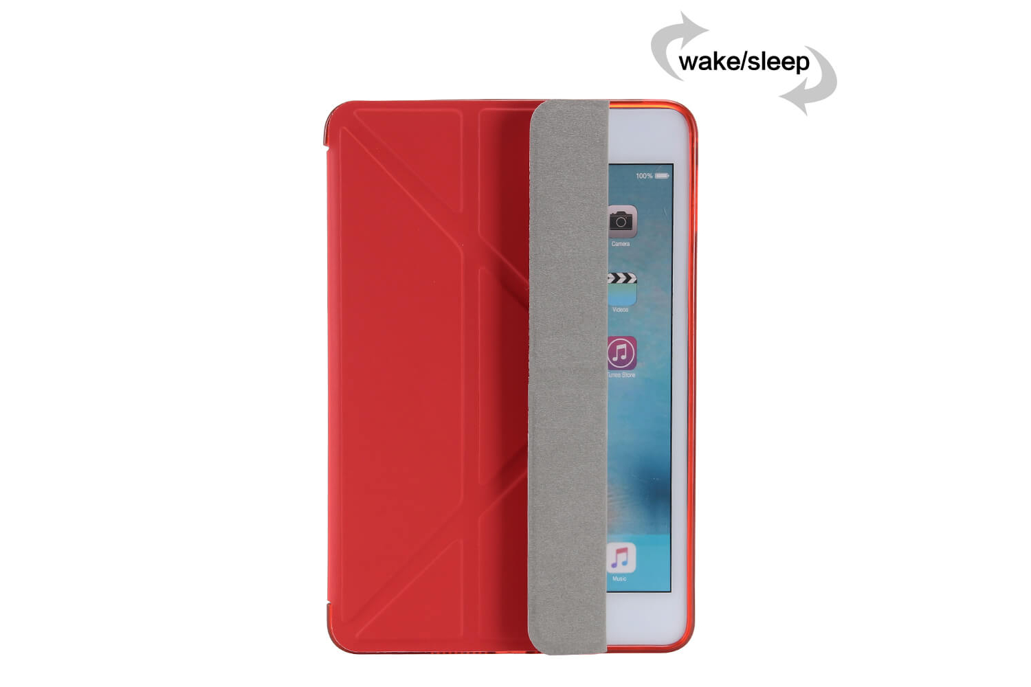 Flipstand Cover iPad Mini 4 rood