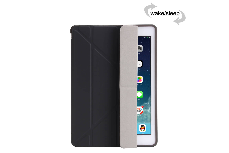 iPad 9.7 (2018) Flipstand Cover zwart