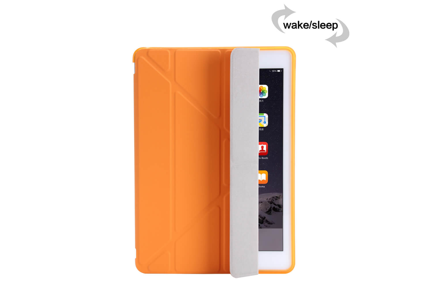 Flipstand Cover iPad Air 2 oranje