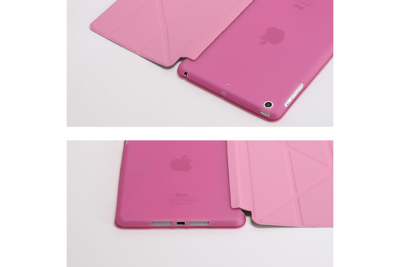 Flipstand Cover iPad Mini 1-2-3 roze