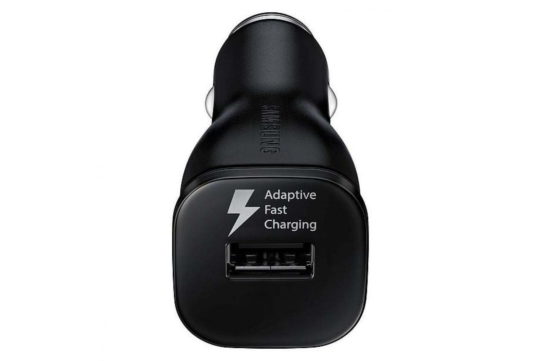 Samsung S9 - S9 plus autolader 1 x fast charger inclusief Samsung USB TYPE-C kabel zwart