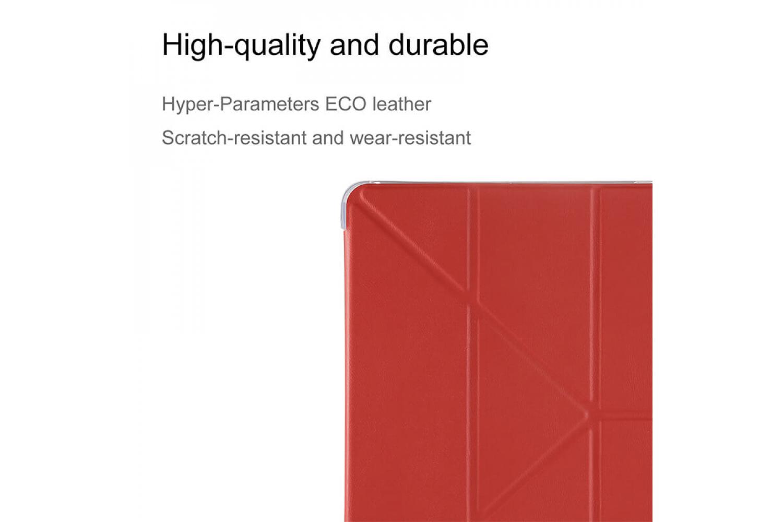 iPad 2018 9.7 inch Book Cover heavy duty TPU Rood