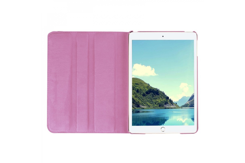 iPad Mini 4 Leren Draaibare Hoes Roze