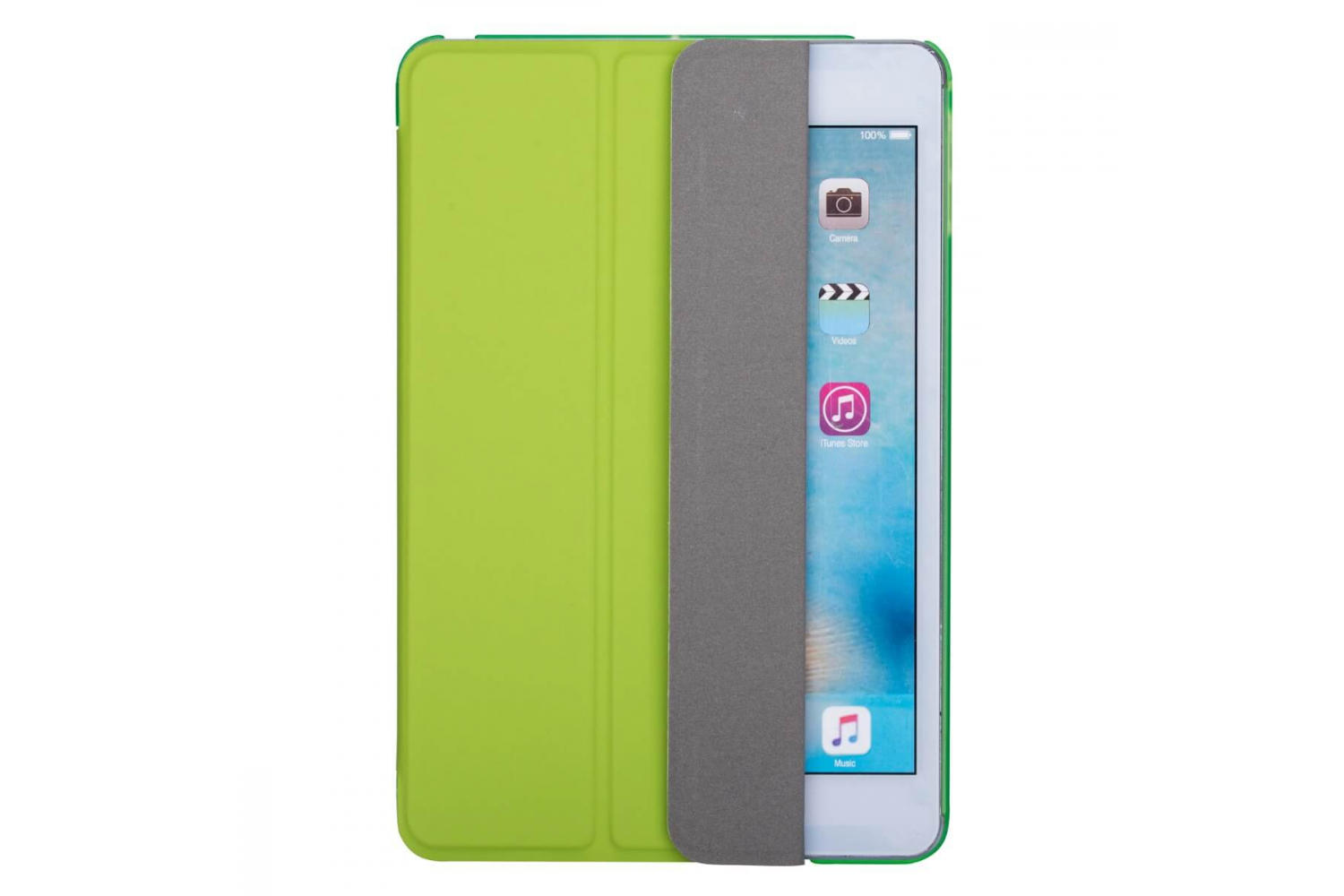 iPad Mini 5 Hard Tri-Fold Book Cover Groen